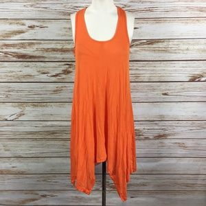 BCBG MaxAzria Sleeveless Asymmetrical Tank Dress